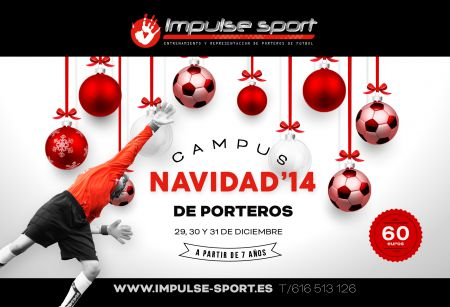 Campus de porteros Navidad'14 - Campus de Fútbol