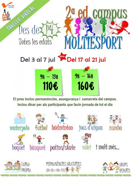 Campus Multiesport - Multideporte - Campus de Voleibol