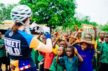 West Africa Cycle Challenge - Impacto social