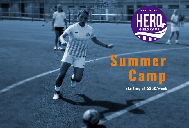 Campamento Femenino - HERO Girls Camp 2019 - Campus de Fútbol 88023ff45ce25
