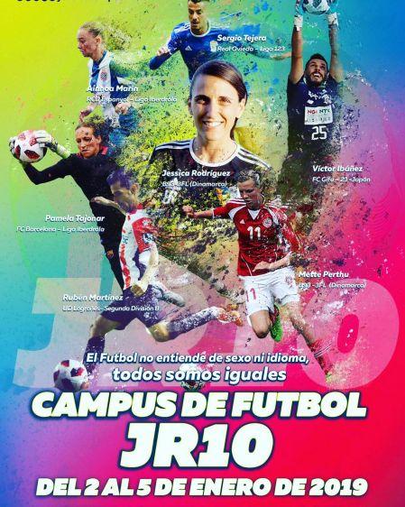 Campus Profesional de Fútbol JR10 - Campus de Fútbol