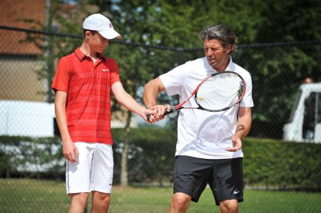 Nike Tennis Camps en Bisham Abbey -