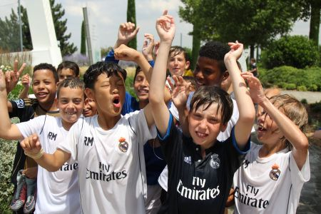 Campus de Fútbol Fundación Real Madrid Externo Media Jornada - Campus de Fútbol