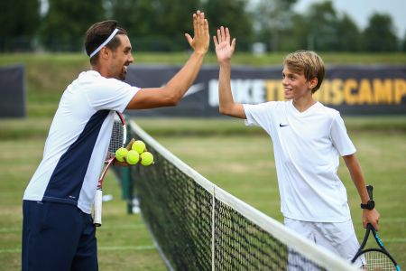 Nike Tennis Camp en Lancing College -
