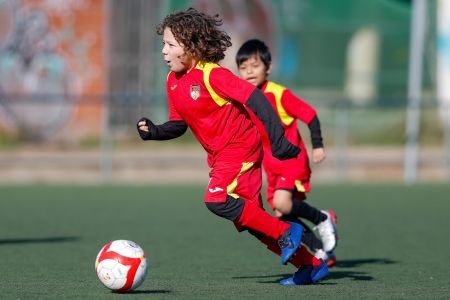 Técnificación individual - Escuelas de Fútbol